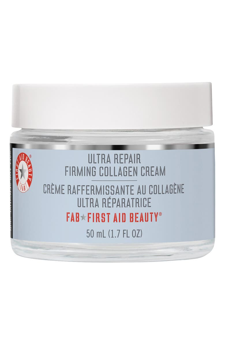 FIRST AID BEAUTY Ultra Repair Firming Collagen Cream, Main, color, NO COLOR