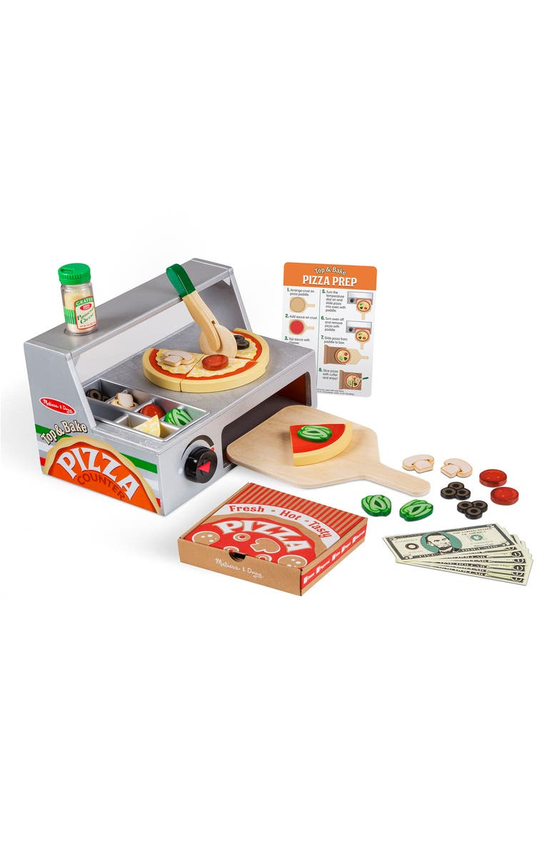 MELISSA & DOUG Pizza Counter, Main, color, 020