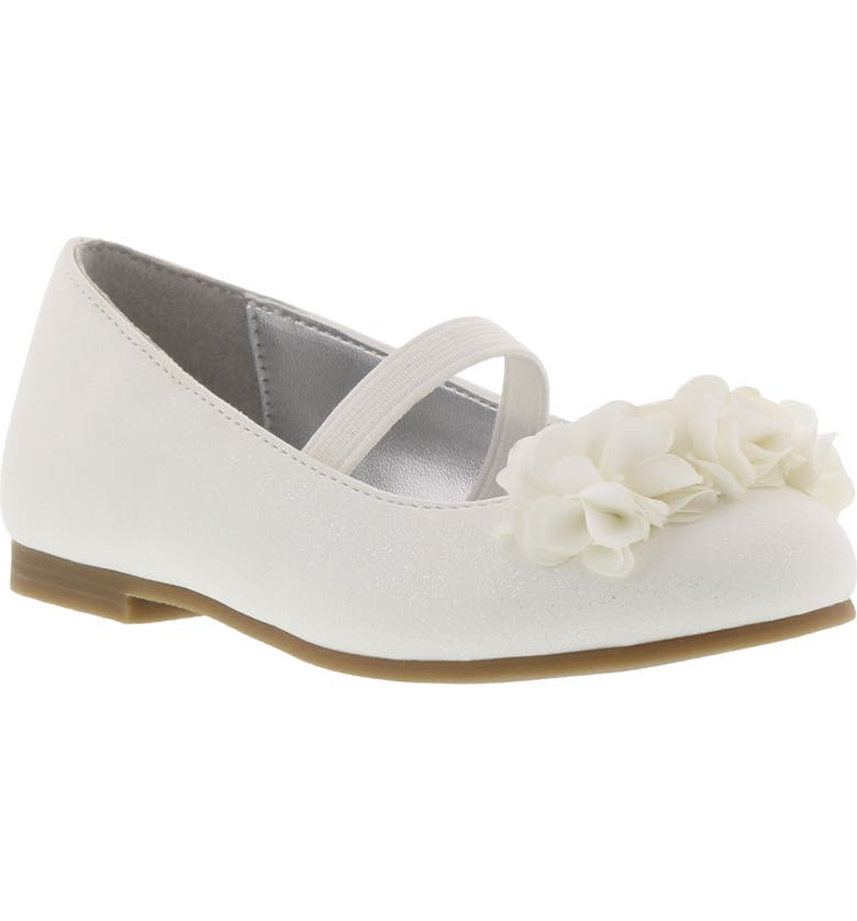 KENNETH COLE REACTION Reaction Kenneth Cole Vote Floral Mary Jane Flat, Main, color, 100