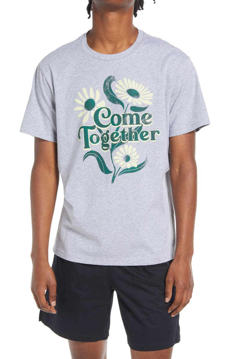 BP. Come Together Graphic Tee, Main, color, GREY TOGETHER