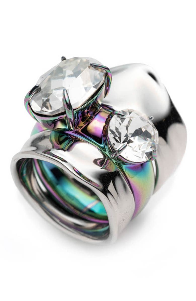 ALEXIS BITTAR Liquid Two-Piece Ring, Main, color, 040