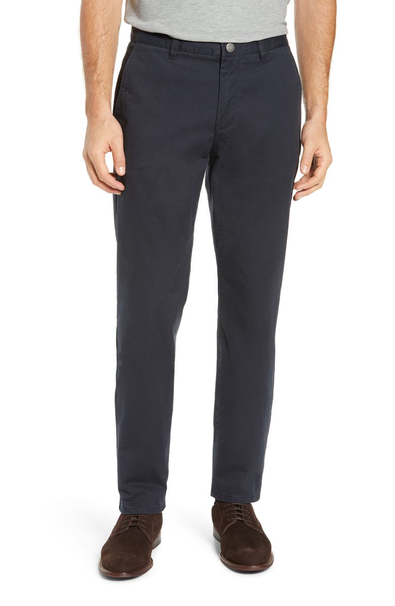 BONOBOS Athletic Stretch Washed Chinos, Main, color, JET BLUES