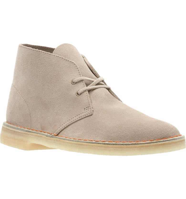 CLARKS<SUP>®</SUP> Desert Chukka Boot, Main, color, SAND SUEDE