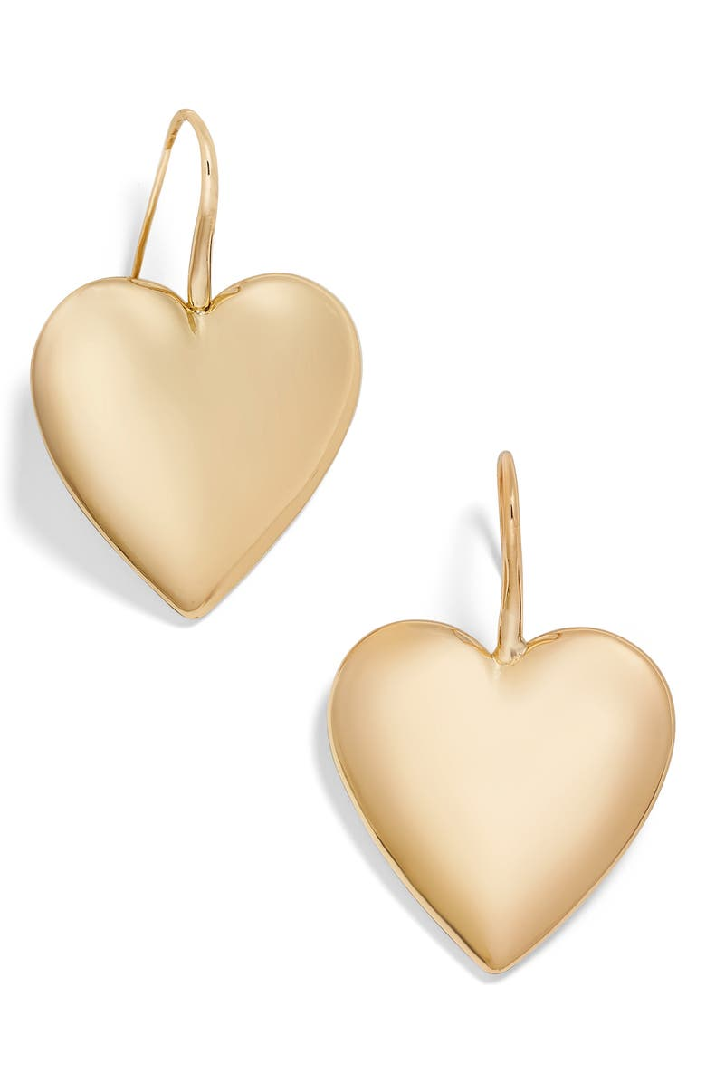BAUBLEBAR Viviane Heart Drop Earrings, Main, color, 710