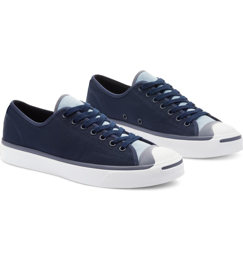 CONVERSE Jack Purcell Low Top Sneaker, Main, color, MIDNIGHT NAVY/ BLUE