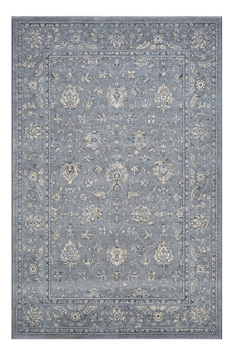 COURISTAN Mashhad Indoor/Outdoor Rug, Main, color, SLATE BLUE