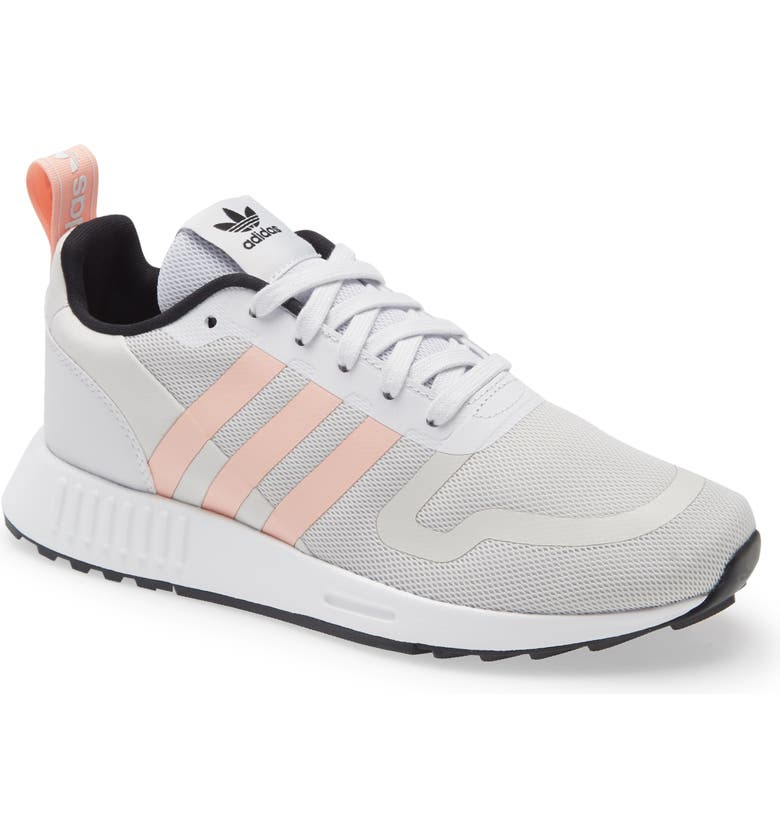 ADIDAS Smooth Runner Sneaker, Main, color, GREY ONE/ GLOW PINK