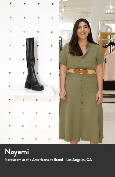 Dauphin Over the Knee Boot, sales video thumbnail