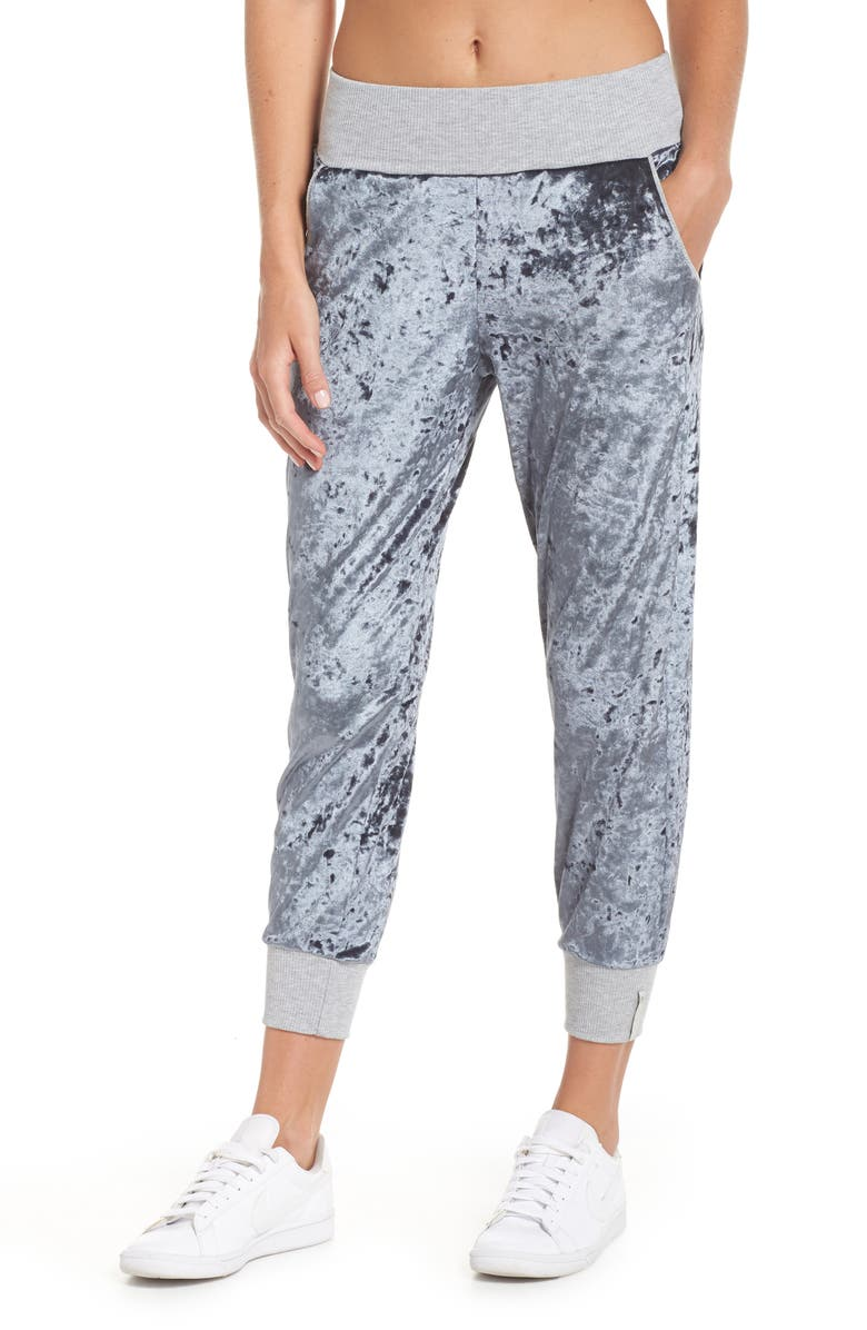 MAAJI Hazy Velour Slate Jogger Pants, Main, color, 430