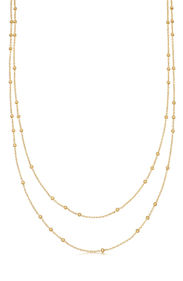 MISSOMA Double Chain Necklace, Main, color, Gold