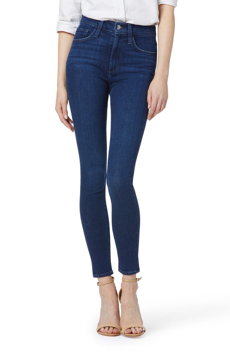 JOE'S The Charlie Ankle Skinny Jeans, Main, color, BECCO
