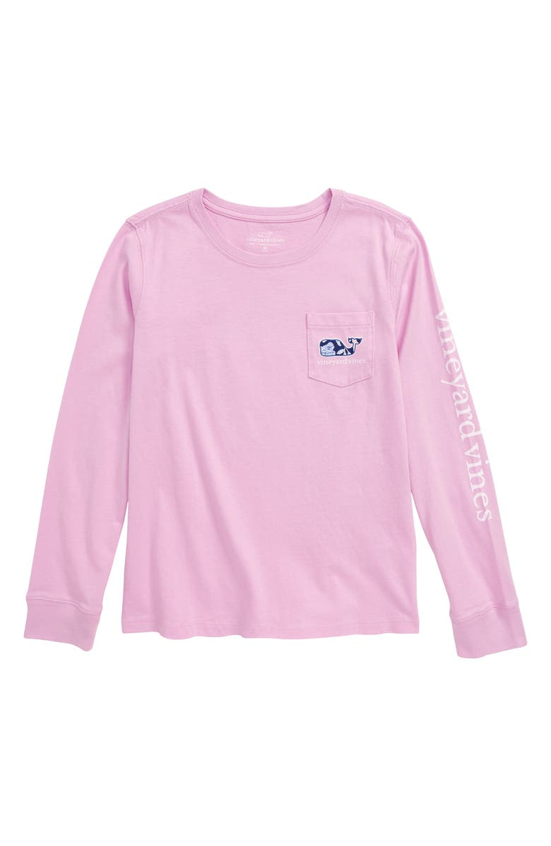 VINEYARD VINES Whale Fill Pocket Tee, Main, color, 650