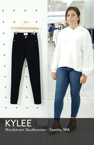 Le High Straight High Rise Jeans, sales video thumbnail