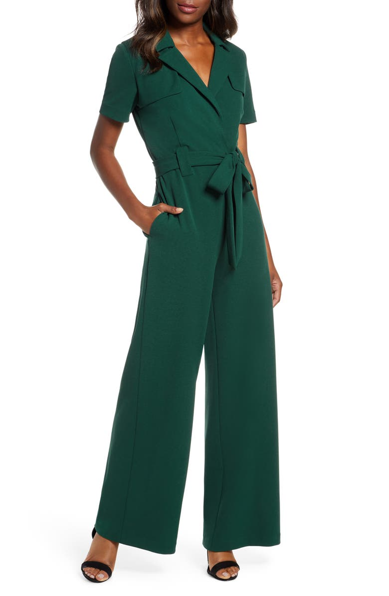 MARK + JAMES BY BADGLEY MISCHKA Mark + James Badgley Mischka Trench Jumpsuit, Main, color, 300