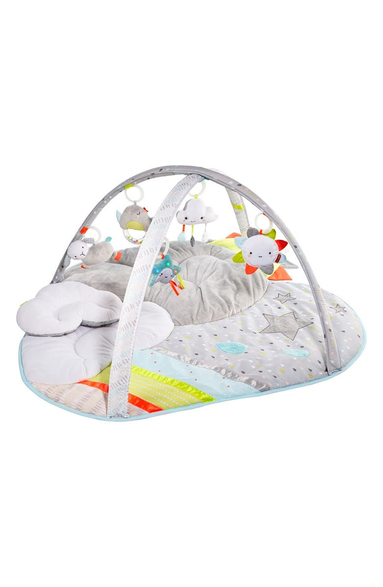 SKIP HOP Silver Lining Activity Gym, Main, color, CLOUDS