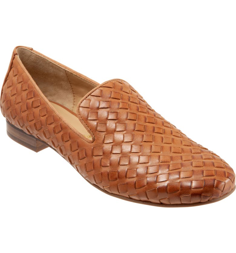 TROTTERS Gracie Loafer, Main, color, LUGGAGE LEATHER
