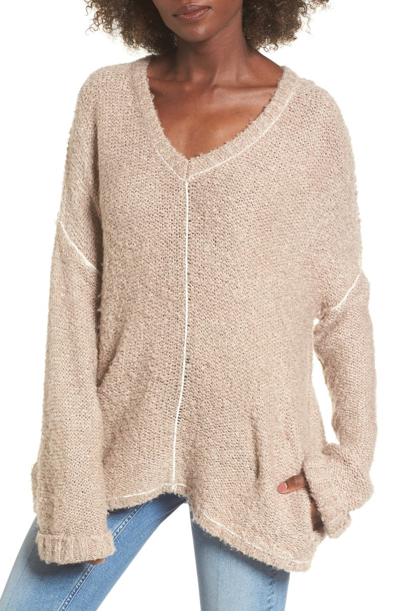 LOST + WANDER Voyage Knit Sweater, Main, color, 253