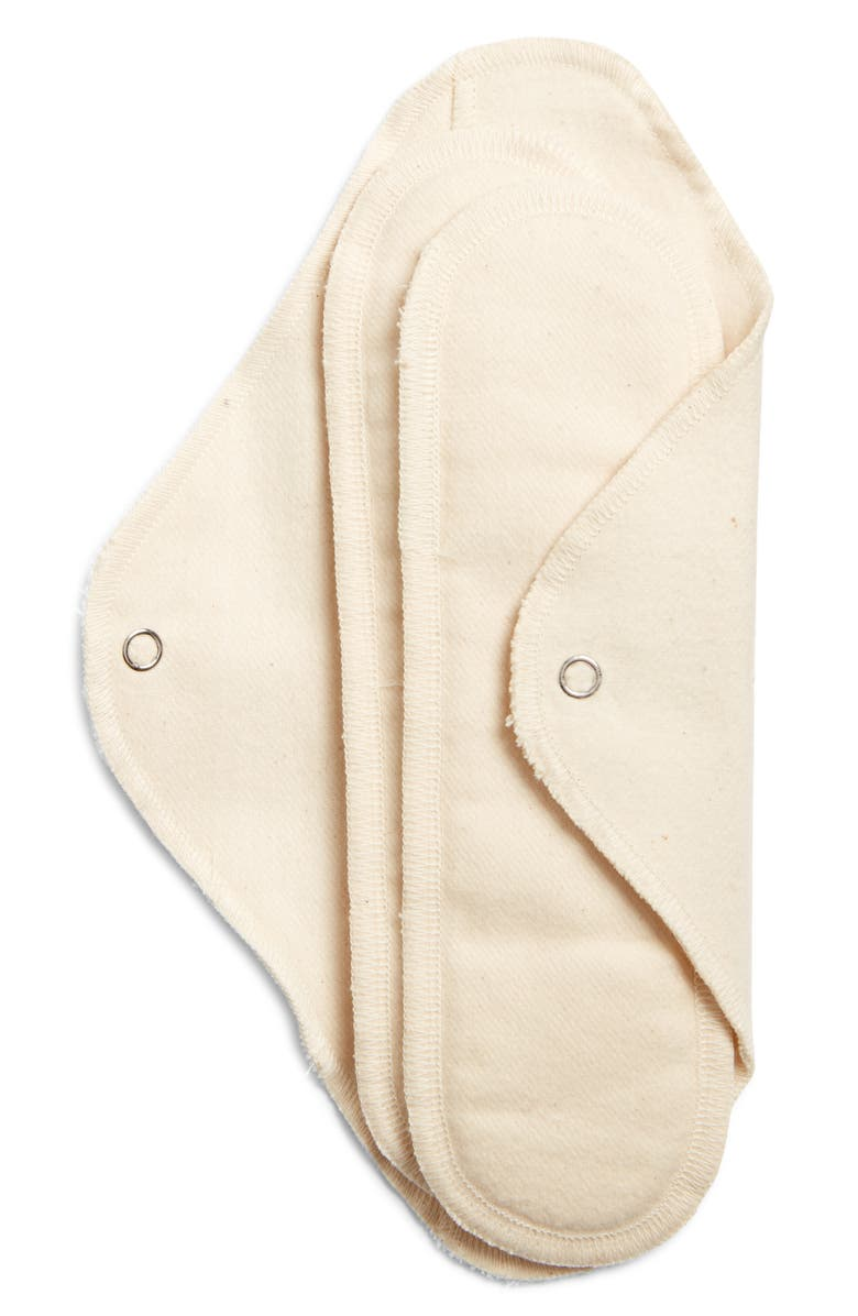 GLADRAGS Package Free x GladRags Organic Cotton Day Pad Plus, Main, color, 100