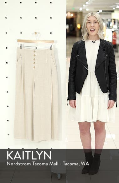 Coco Cropped Wide Leg Trousers, sales video thumbnail