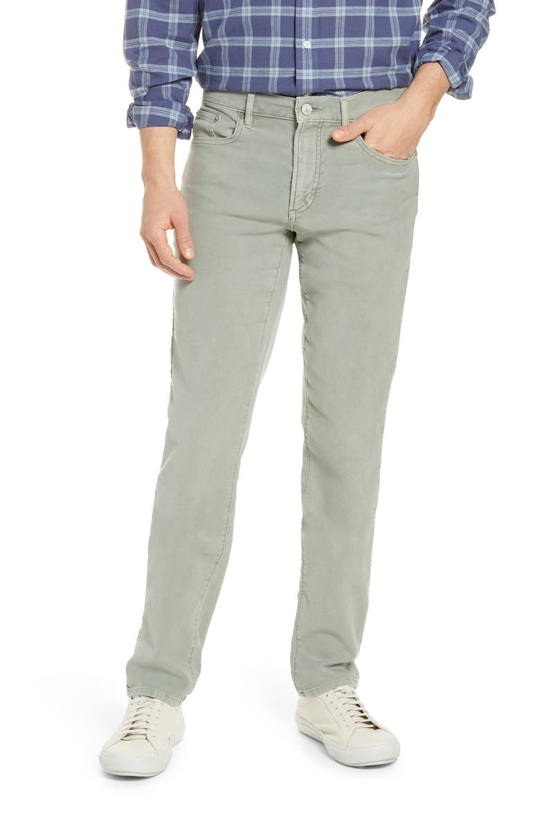 FAHERTY Stretch Terry 5-Pocket Pants, Main, color, FADED OLIVE