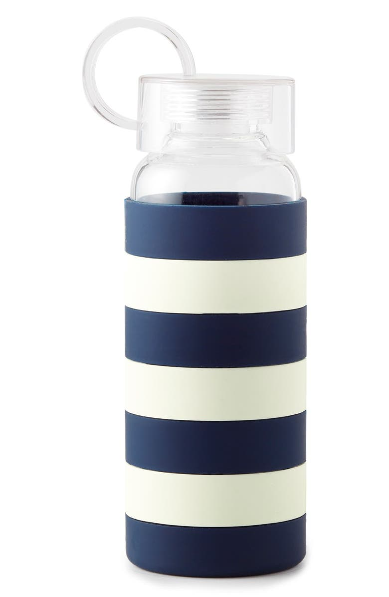 KATE SPADE NEW YORK glass water bottle, Main, color, 400