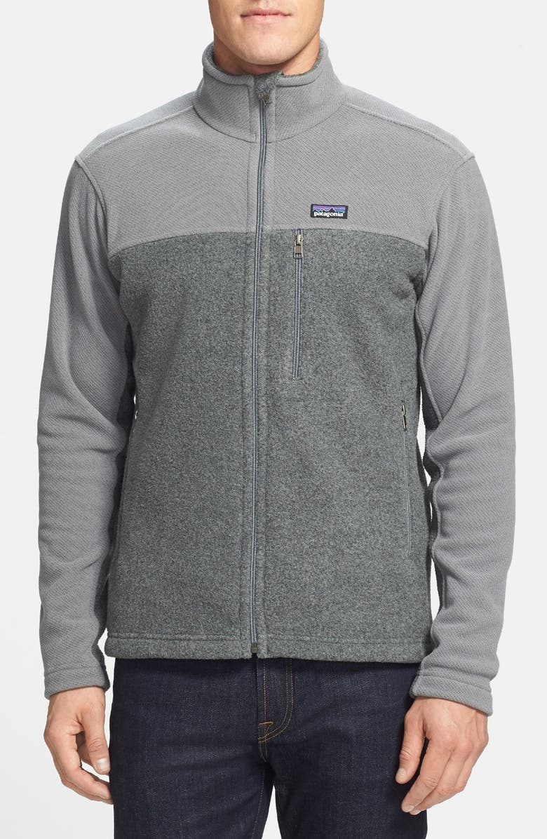 PATAGONIA 'Simple Synchilla<sup>®</sup>' Full Zip Jacket, Main, color, NICKLE