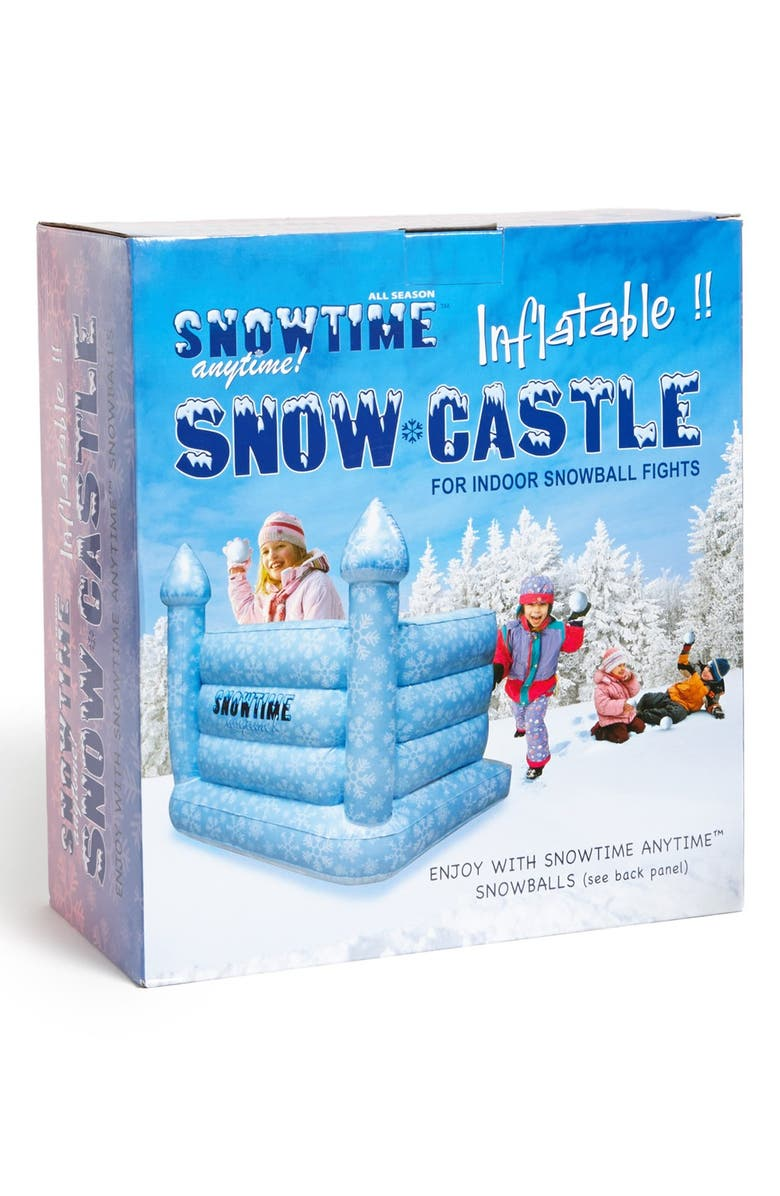 SNOWTIME ANYTIME Inflatable Snow Castle, Main, color, 000