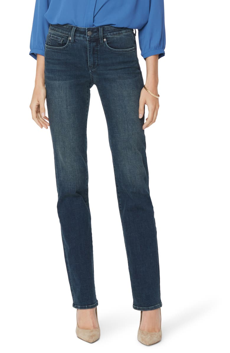 NYDJ Marilyn Straight leg Jeans, Main, color, PROSPERITY