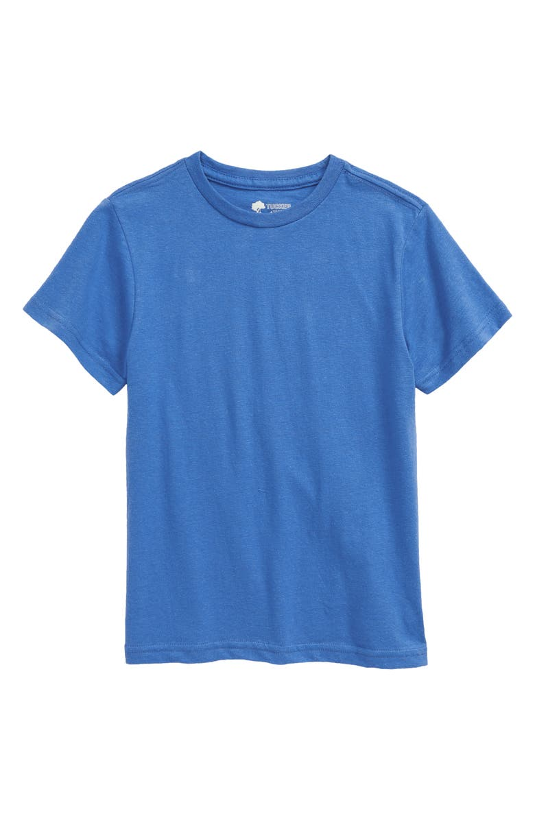 TUCKER + TATE Kids' Essential Heathered T-Shirt, Main, color, BLUE PALACE