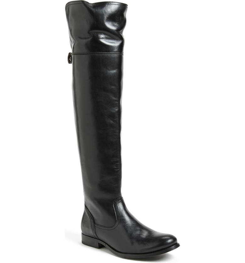 FRYE 'Melissa' Over the Knee Boot, Main, color, 001