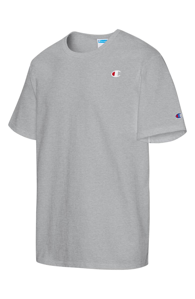 CHAMPION Heritage Logo Men's Graphic Tee, Main, color, Grey