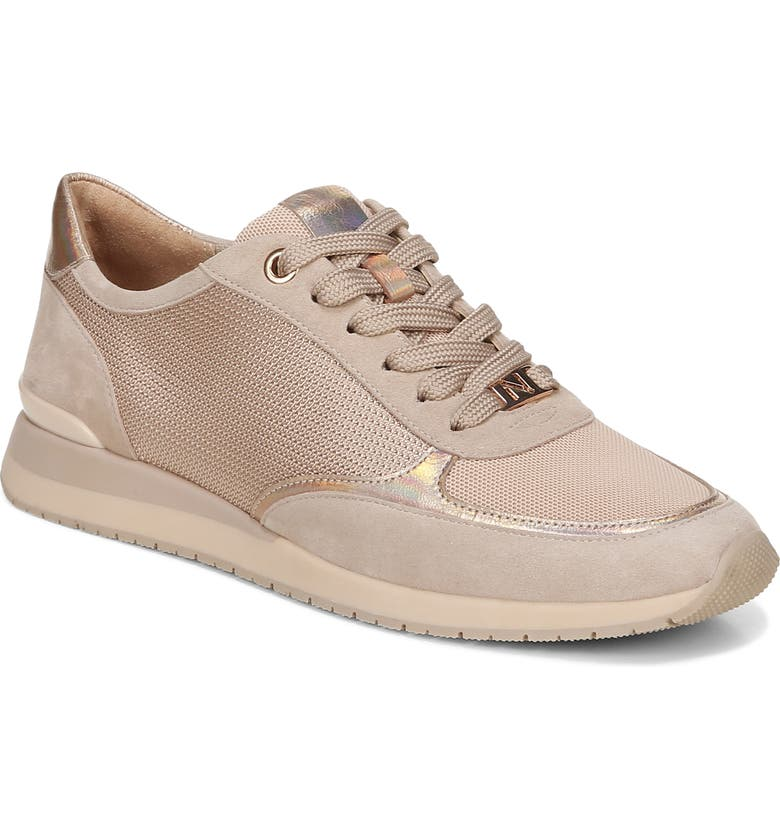 NATURALIZER Lotus Sneaker, Main, color, ALMOND LEATHER