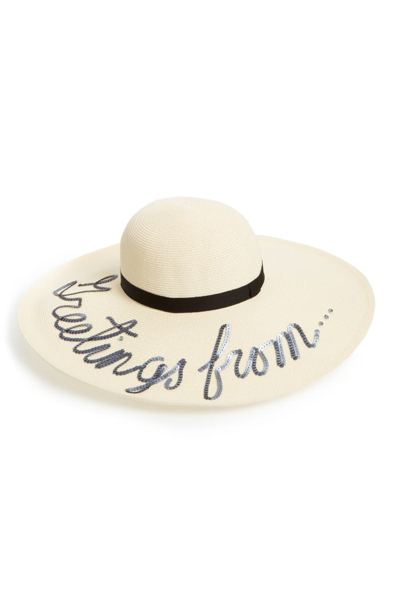 EUGENIA KIM Greetings From Hat, Main, color, 900