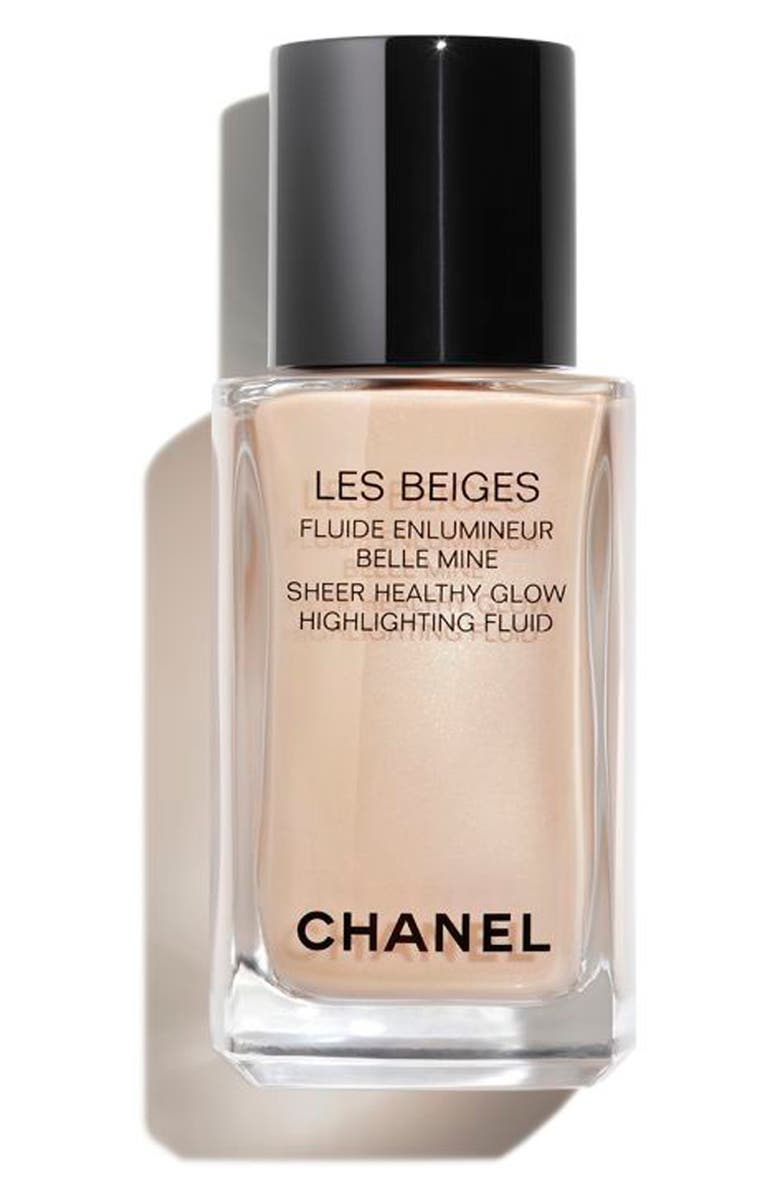 CHANEL LES BEIGES SHEER HEALTHY GLOW Highlighting Fluid, Main, color, PEARLY GLOW