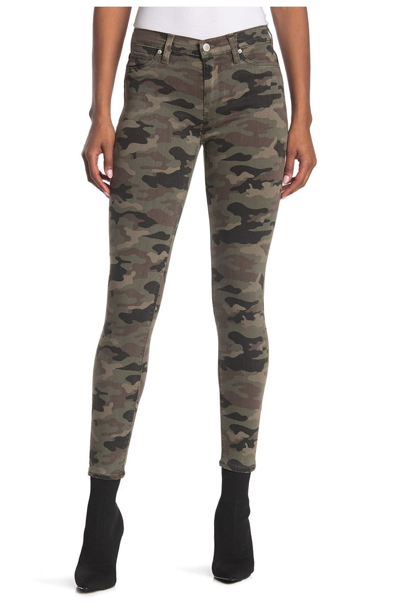 HUDSON JEANS 'Nico' Ankle Coated Skinny Jeans, Main, color, 303