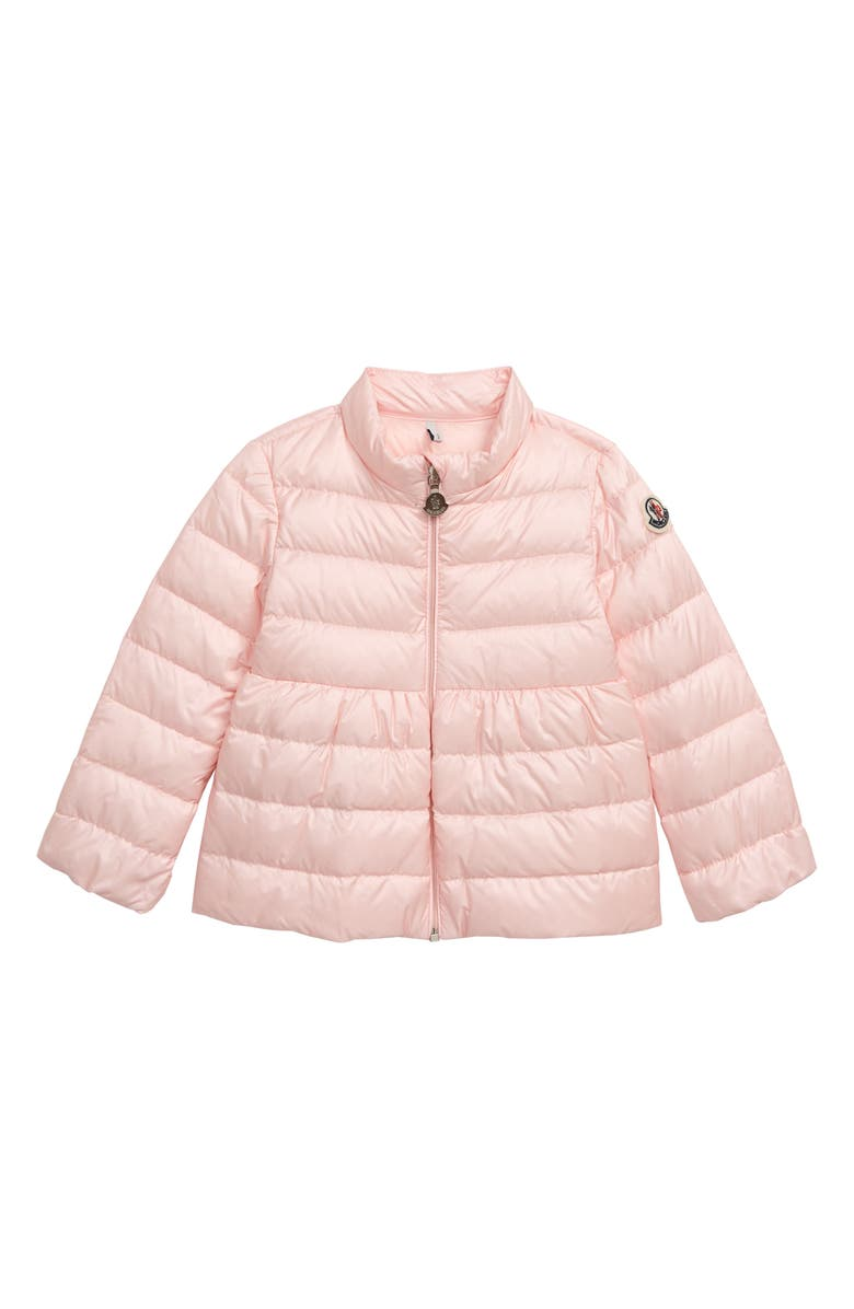 MONCLER Joelle Insulated Down Jacket, Main, color, LIGHT PINK