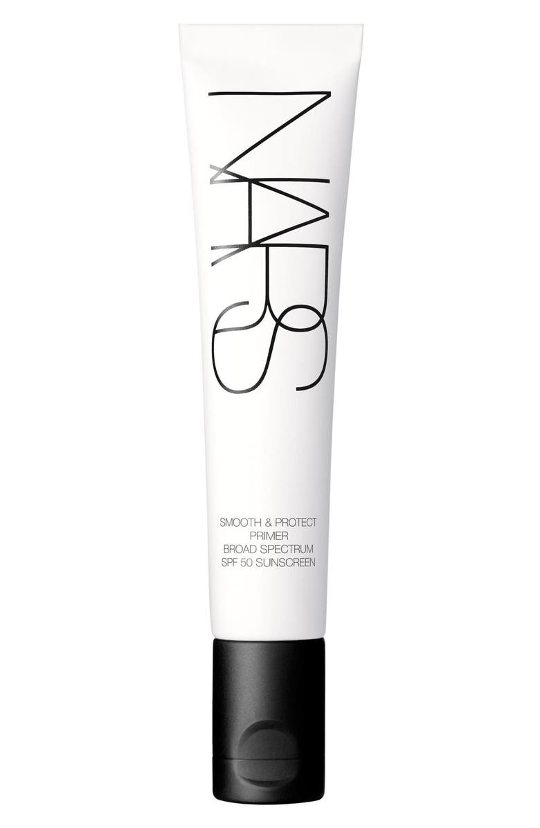 NARS Smooth & Protect Face Primer Broad Spectrum SPF 50, Main, color, NO COLOR