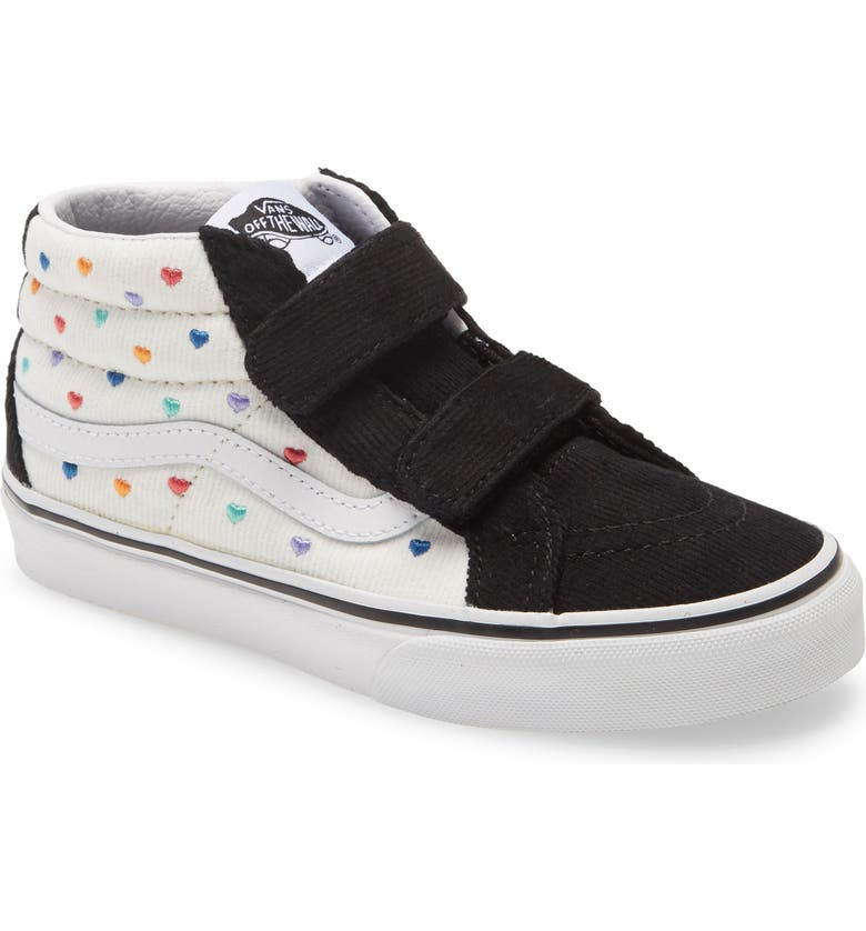 VANS Sk8-Mid Reissue V Sneaker, Main, color, 001