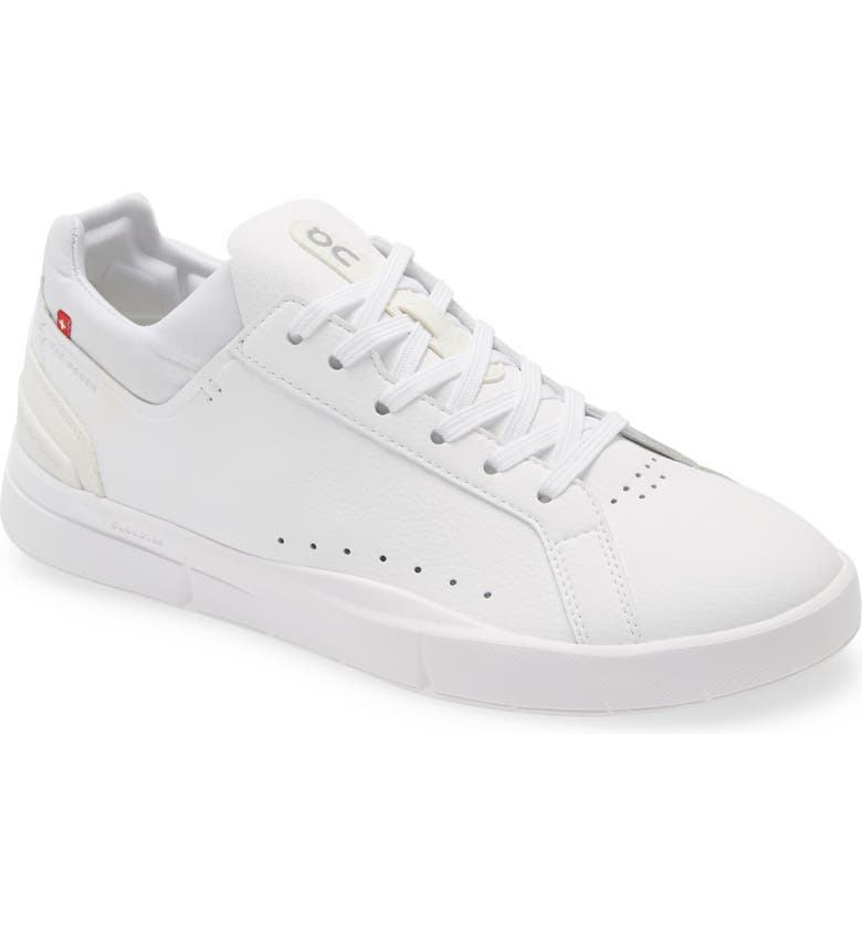 ON THE ROGER Advantage Tennis Sneaker, Main, color, ALL WHITE