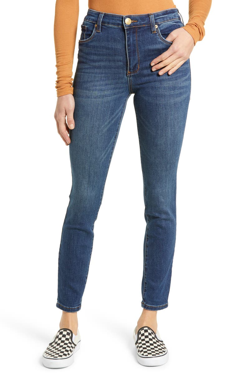 STS BLUE Ellie High Waist Ankle Skinny Jeans, Main, color, FAY SMITH