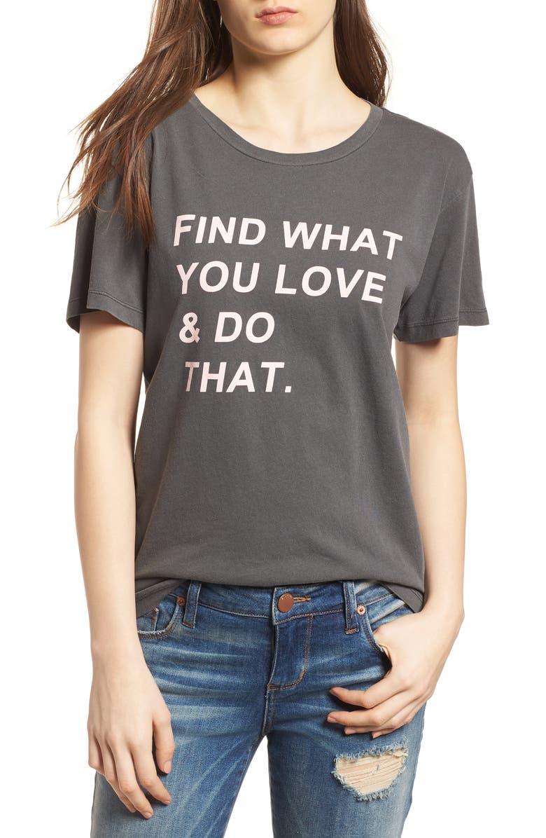DESERT DREAMER Find What You Love Tee, Main, color, 001