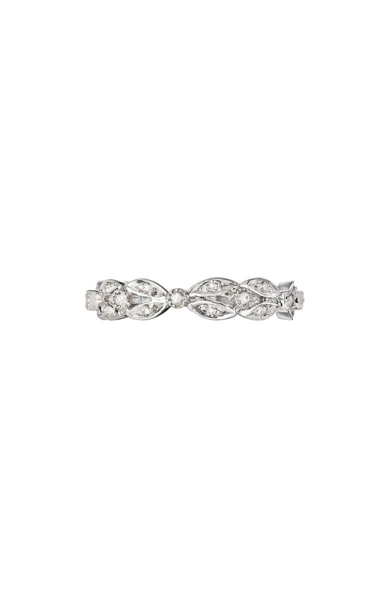 SETHI COUTURE Diamond Garland Band Ring, Main, color, WHITE GOLD