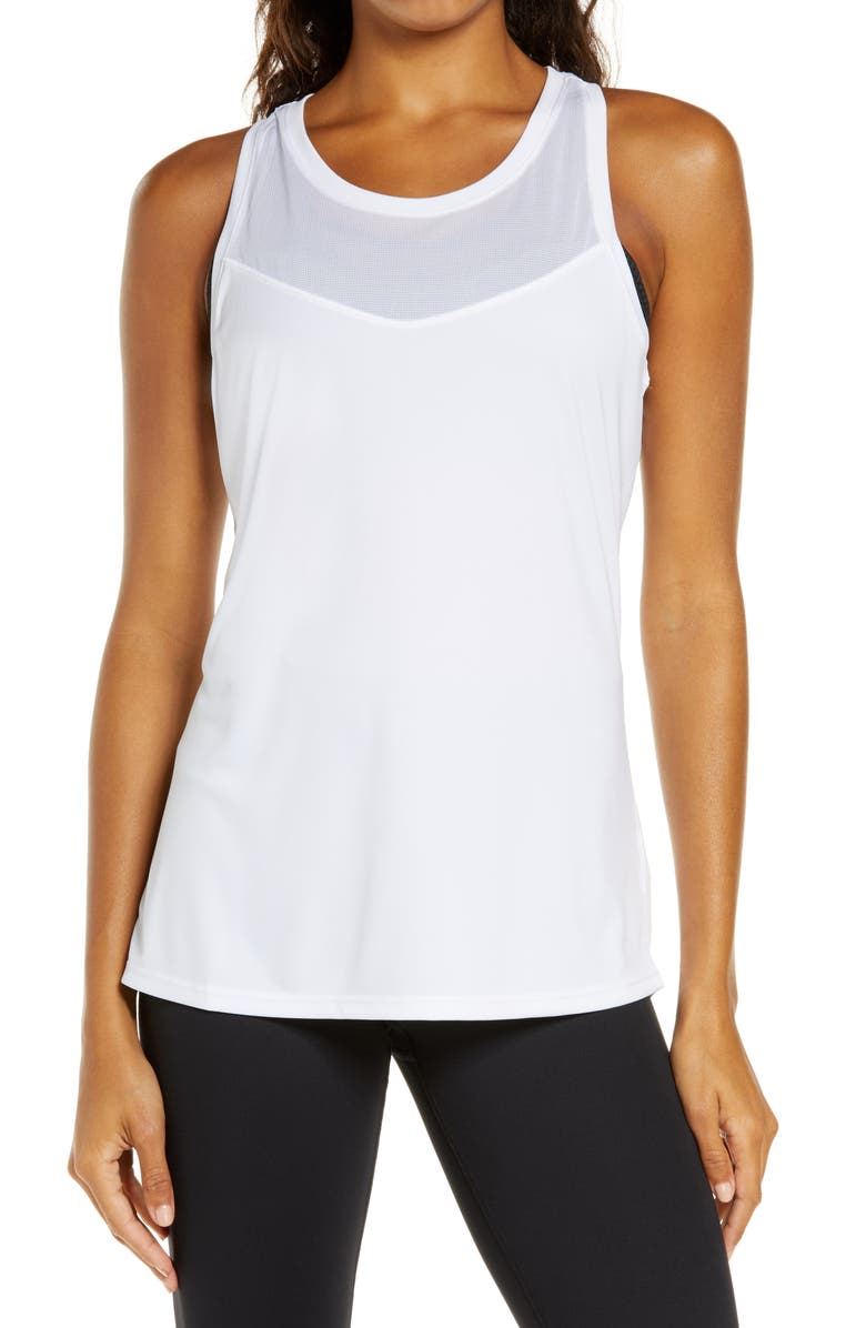 BROOKS Stealth Tank, Main, color, WHITE