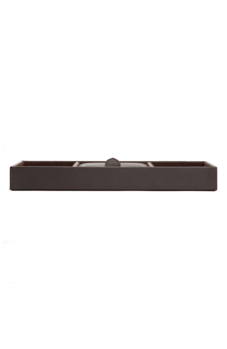 WOLF Blake Valet Tray, Main, color, Brown