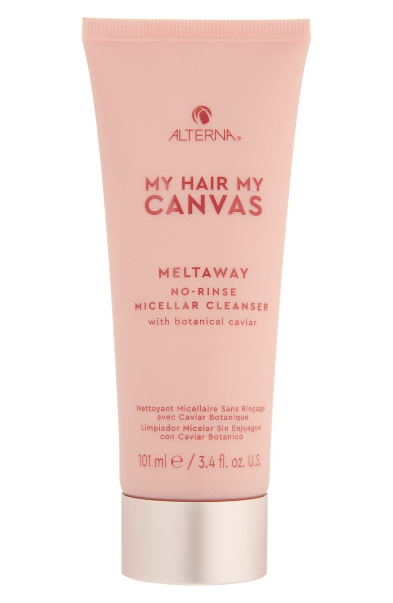 ALTERNA<SUP>®</SUP> My Hair My Canvas Meltaway No-Rinse Micellar Cleanser, Main, color, NO COLOR