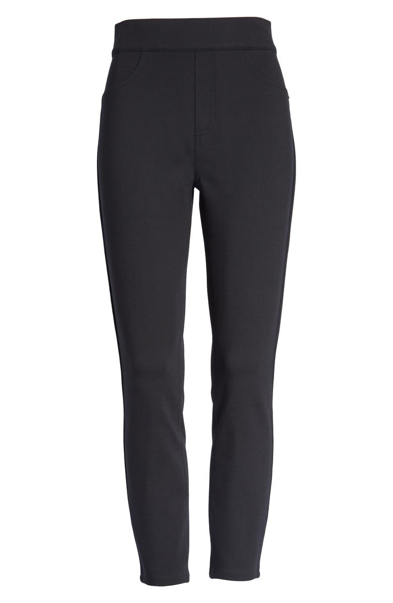 SPANX<SUP>®</SUP> The Perfect Black Pants Four-Pocket Ankle Pants, Main, color, VERY BLACK