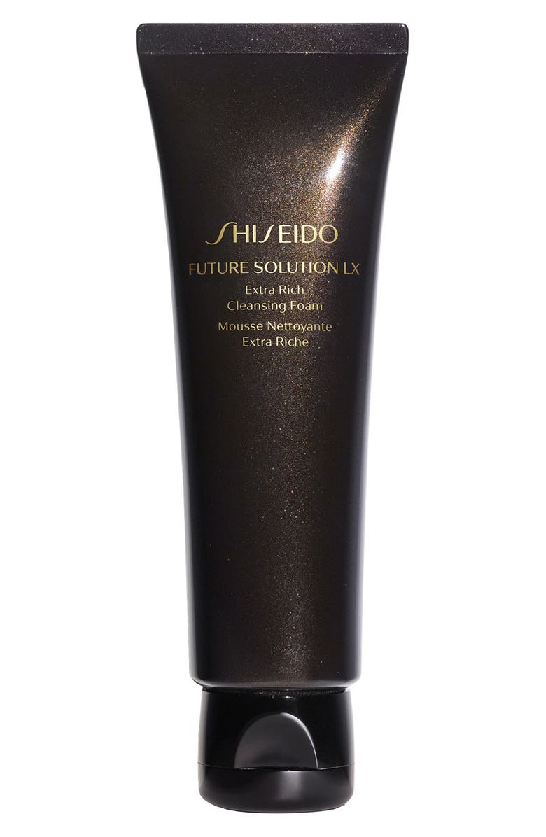 SHISEIDO Future Solution LX Extra Rich Cleansing Foam, Main, color, No Color
