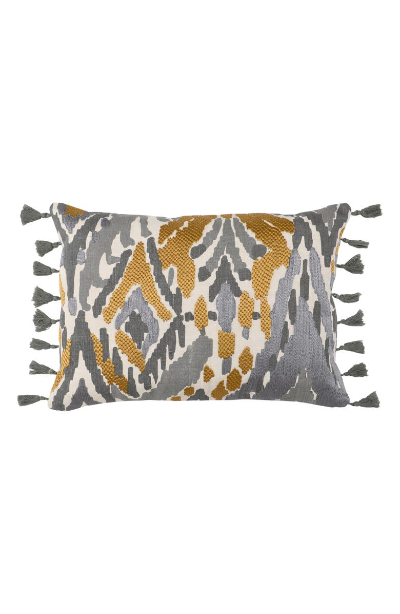 VILLA HOME COLLECTION Onley Tassel Accent Pillow, Main, color, 020