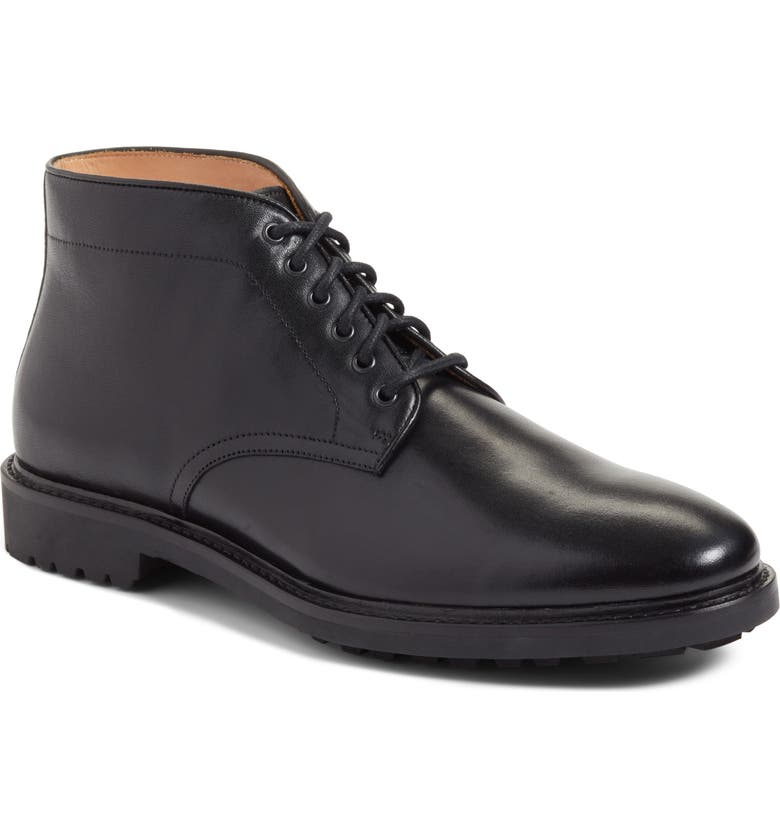 JOHN W. NORDSTROM<SUP>®</SUP> Ramiro Plain Toe Boot, Main, color, 001