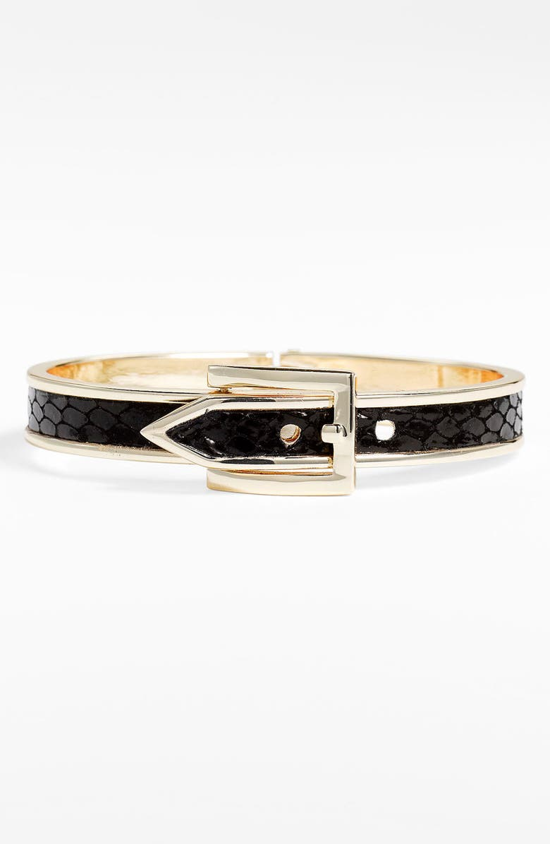 CARA Buckle Bangle, Main, color, 001
